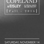 Concert Review: We Are the City, Eisley, and Copeland